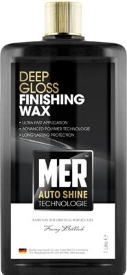 Mer MASFW1 Car Cleaning Detailing 874 Deep Gloss Finishing Wax Single 1 Litre