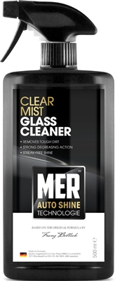 Mer MASGC5 Car Cleaning Detailing 898 Clear Mist Glass Cleaner Single 500ml