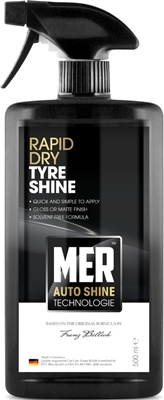 Mer MASTS5 Car Cleaning Detailing 799 Rapid Dry Tyre Shine Single 500ml