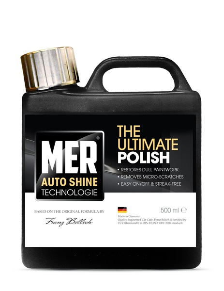 Mer MASUP5 Car Cleaning Detailing 713 Ultimate Shine Polish Single 500ml