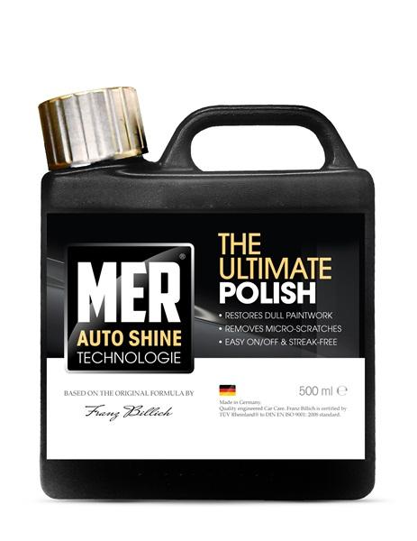 Mer MASUP5 Car Cleaning Detailing 713 Ultimate Shine Polish Single 500ml Thumbnail 1