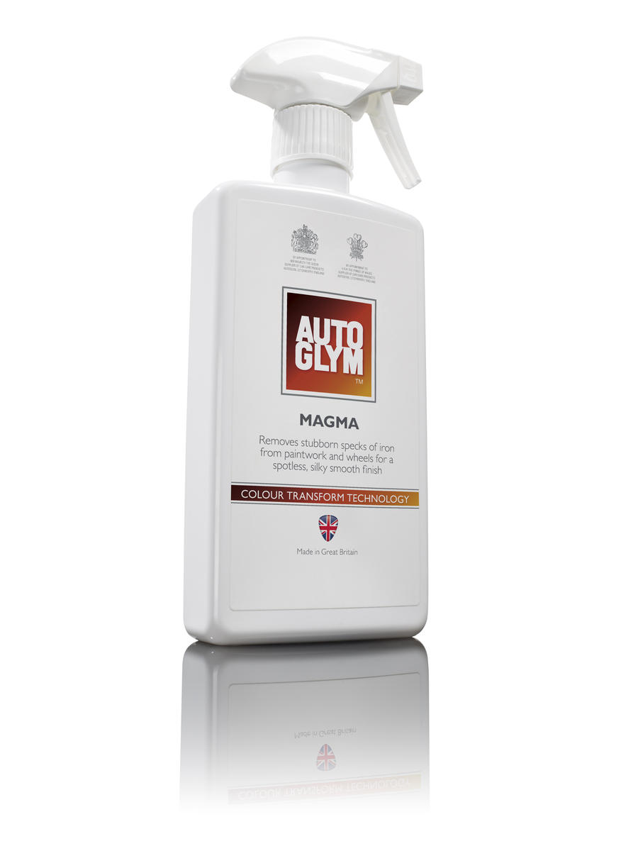 Autoglym 500ml Car Cleaning Detailing Magma Iron Remover