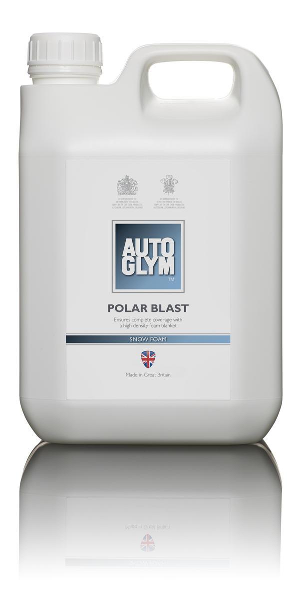 Autoglym 2.5 Litre Car Cleaning Detailing Polar Blast Snow Shampoo