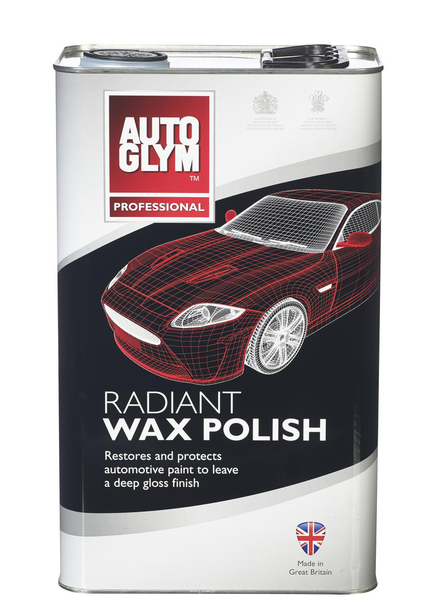 Autoglym 5 Litre Car Cleaning Detailing Radiant Wax Polish