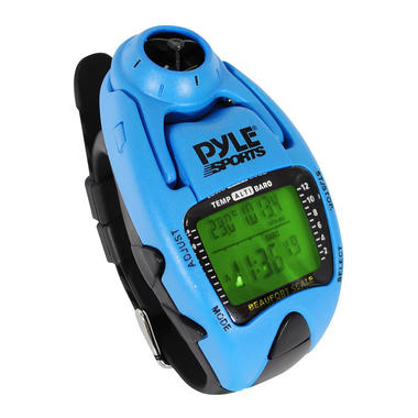 Pyle PSWWM90BL Wind Speed Altimeter Barometer Compass Thermometer Sailing Watch EX DEMO BAD BOX With Warranty Thumbnail 2