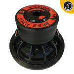 "Bassface RED12.4 12"" Inch 30cm 2x2Ohm DVC Pro SPL SQ Series Subwoofer 2500w RMS"