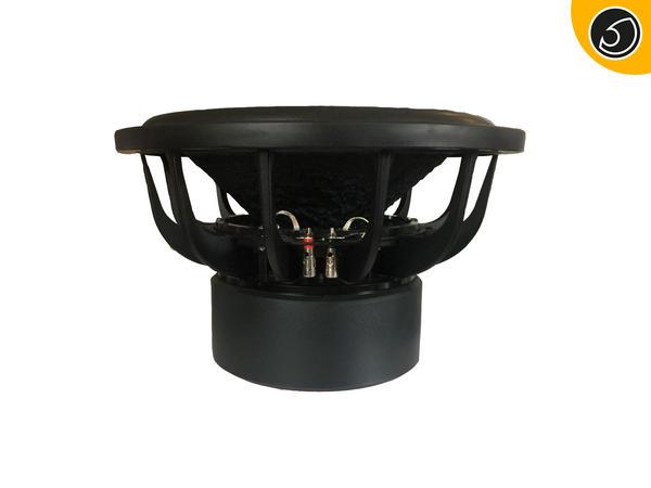 "Bassface RED15.4 15"" Inch 38cm 2x2Ohm DVC Pro SPL SQ Series Subwoofer 2500w RMS Thumbnail 3"
