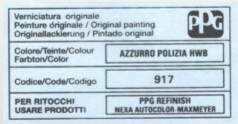 Custom Vehicle 400ml Aerosol Manufactures Paint For Alfa Romeo Cars Thumbnail 2