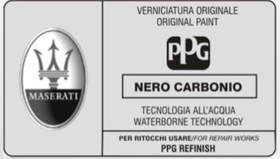 Custom Vehicle 400ml Aerosol Manufactures Paint For Maserati Cars Thumbnail 2