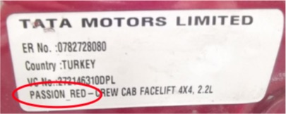 Custom Vehicle 400ml Aerosol Manufactures Paint For Tata Cars Thumbnail 2
