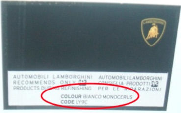 Custom Vehicle 100ml Touch Up Pot Manufacture Paint For Lamborghini Cars Thumbnail 2