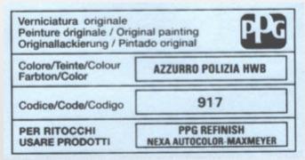 Custom Vehicle 500ml Trade Pot Paint For Alfa Romeo Cars Thumbnail 2