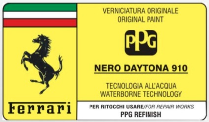 Custom Vehicle 500ml Trade Pot Paint For Ferrari Cars Thumbnail 2