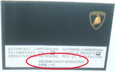 Custom Vehicle 500ml Trade Pot Paint For Lamborghini Thumbnail 2