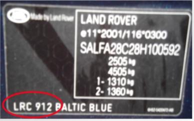 Custom Vehicle 500ml Trade Pot Paint For Rover & Land Rover Cars Thumbnail 2