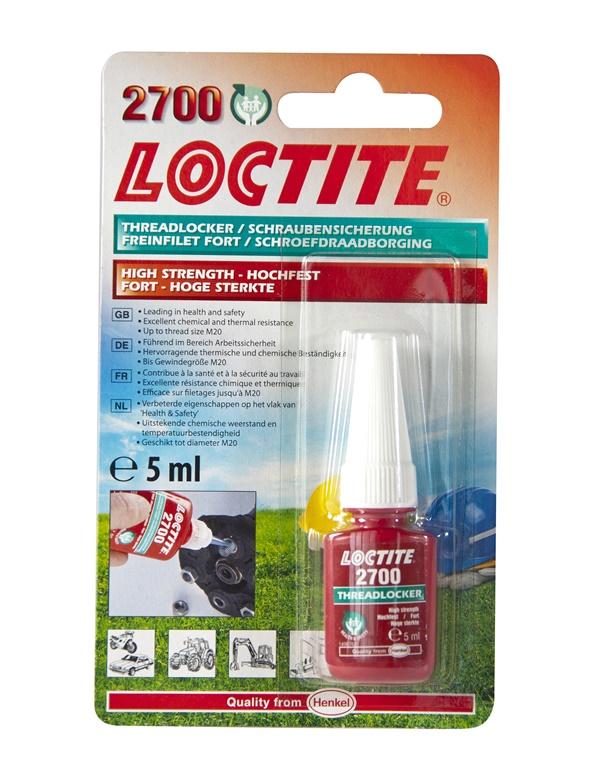 Loctite 1960972 Autmotive Motoring High Strength Threadlocker Single 5ml