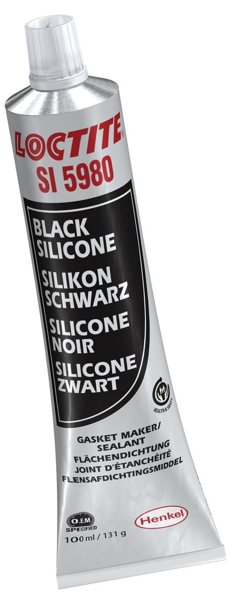 Loctite 2064235 Si5980 Motoring Black Silicone Oil Resistant Single 100ml