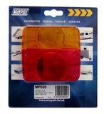 Maypole MP020 Trailer Towing Automotive Spare Lamp Lens