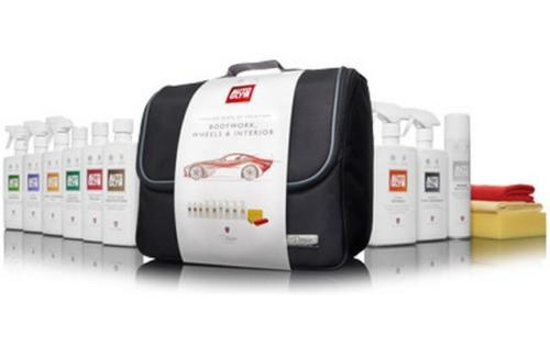 Autoglym Perfect Body & Wheels VP9BLK Protection Car Detailing Valeting Kit