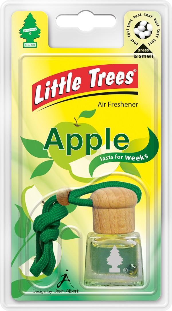 Little Trees LTB001 Car Office Home Bottle Airfreshener Apple Single