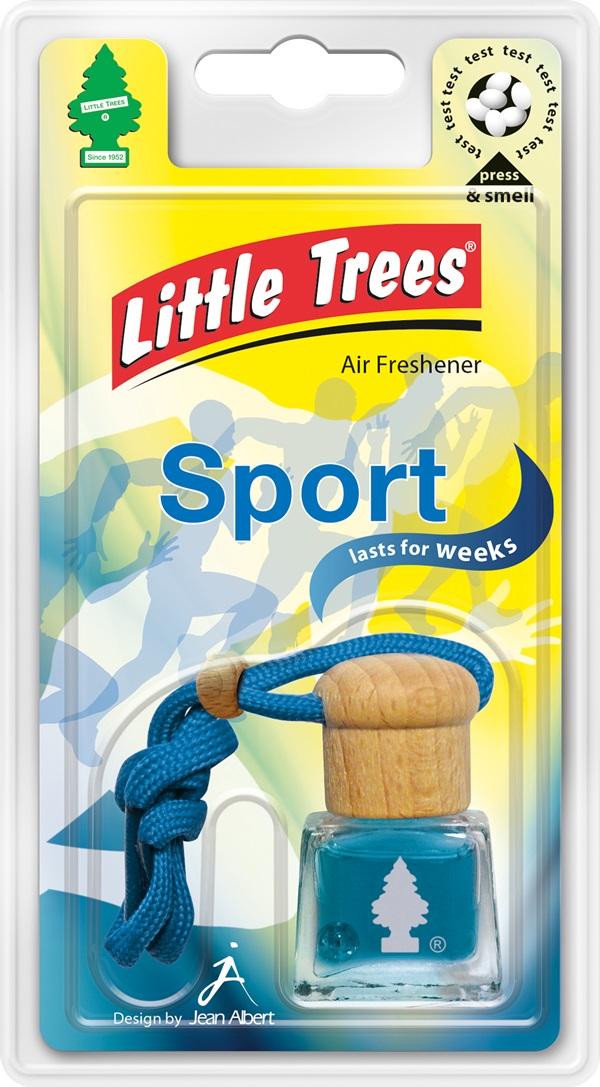 Little Trees LTB007 Car Office Home Bottle Airfreshener Sport Single