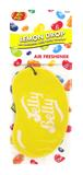 Jelly Baby 15207 2D Car Office Home Air Freshener Lemon Drop Single