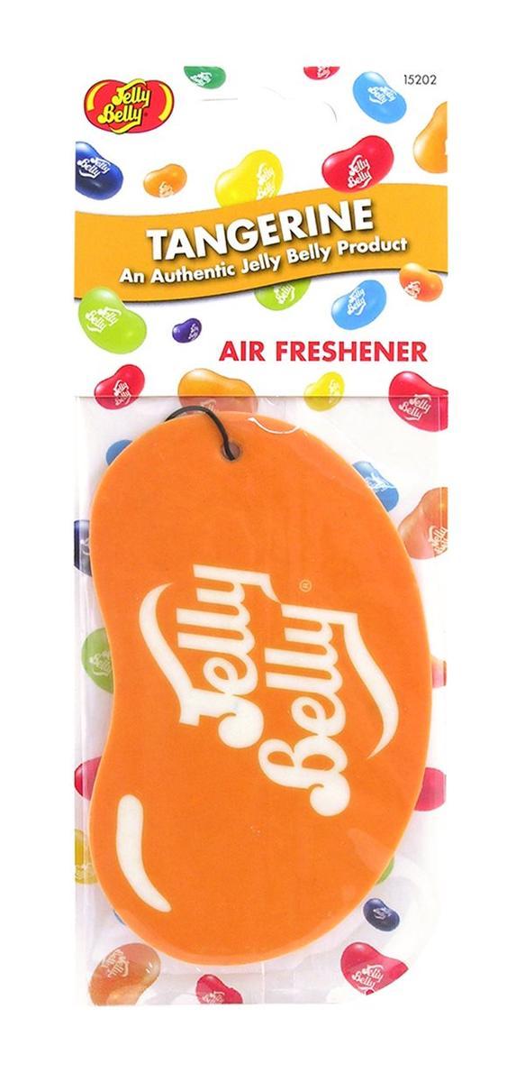 Jelly Baby 15202 2D Car Office Home Air Freshener Tangerine Single