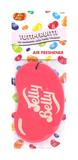 Jelly Baby 15206 2D Car Office Home Air Freshener Tutti-Fruitti Single