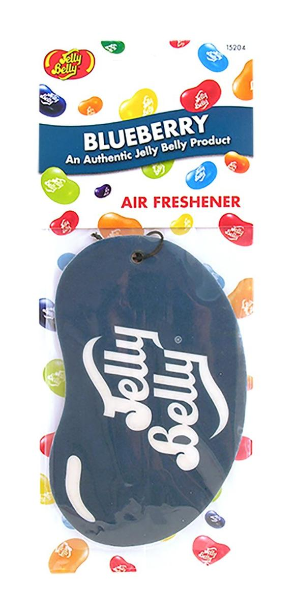 Jelly Baby 15204 2D Car Office Home Air Freshener Blueberry Single