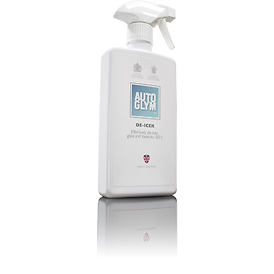 Autoglym DI500 Car Cleaning Detailing Fast Actin -50 Winter De-icer 500ml