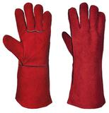 Portswest A500RERXL Red Welders Welding Safety Gauntlet Gloves Large Single