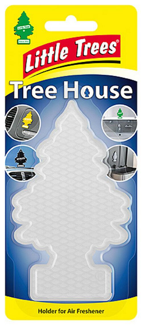 Little Tree Magic Tree Tree House Holder Air Freshener Car Home Office Van Clear