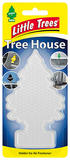 Little Tree Magic Tree Tree House Holder Air Freshener Car Home Office Van Clear