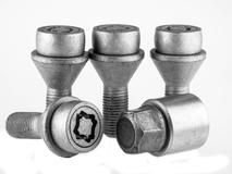 EVO5 094/5 Citroen Fiat Peugeot 21mm M14 x 1.5 Locking Wheel Bolts Set of four