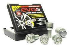 EVO5 199/5 Porsche VW 19mm M14 x 1.5 Locking Wheel Bolts Set of four