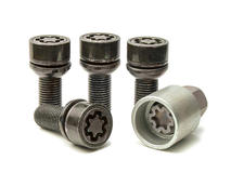 EVO5 199/5 Porsche VW 19mm M14 x 1.5 Locking Wheel Bolts Set of four