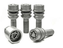 EVO5 299/5 VW T5 19mm M14 x 1.5 Locking Wheel Bolts Set of four