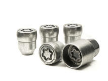 EVO5 377/5 Nissan 21mm M12 x 1.25 Locking Wheel Nuts Set of four