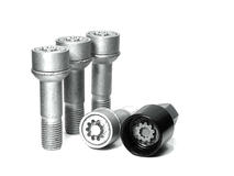 EVO5 591/5 Mercedes 17mm M14 x 1.5 Locking Wheel Bolts Set of four