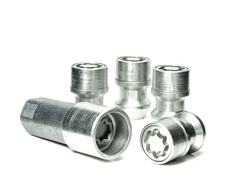 EVO5 771/5 Hyundai 21mm M12 x 1.5 Locking Wheel Nuts Set of four