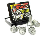 EVO5 781/5 Citroen Fiat Peugeot 24mm M16 x 1.5 Locking Wheel Bolts Set of four