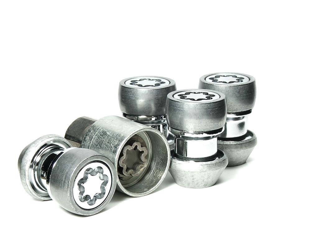 EVO5 892/5 Ford Landrover 21mm M14 x 1.5 Locking Wheel Nuts Set of four