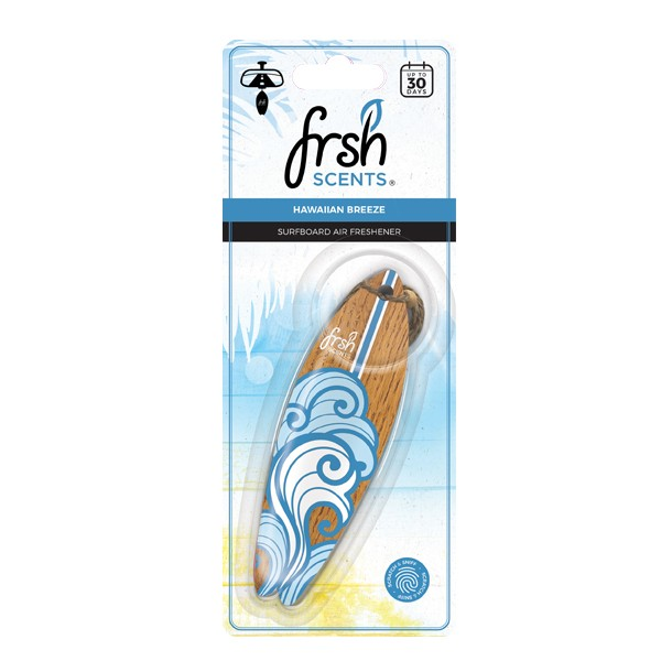Fresh FR9781 Car Office Home Long Lasting 3D Tropical Breeze Smell Air Freshener