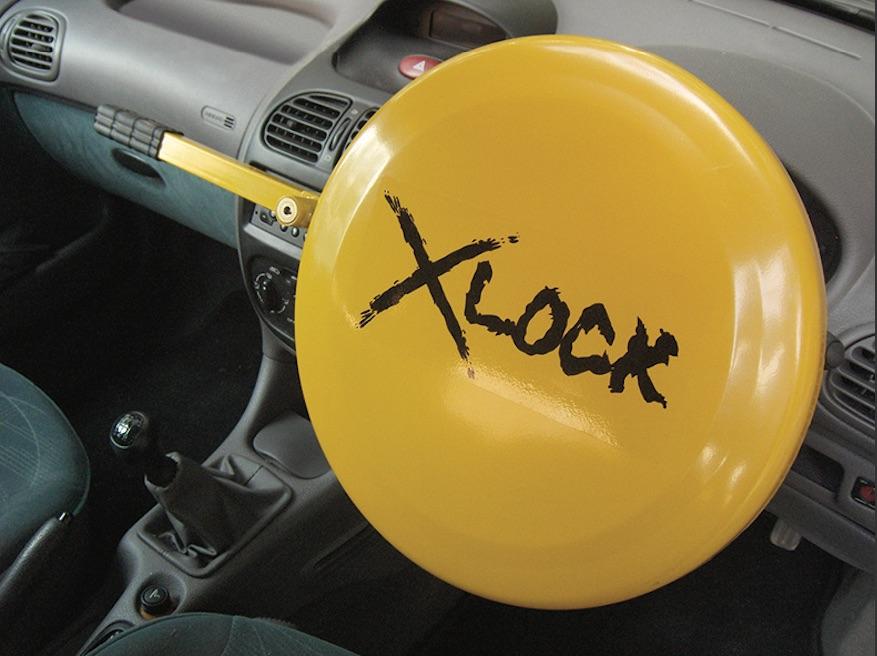 High Security Full Face Steering Car Van Steering Wheel Anti Theft Lock