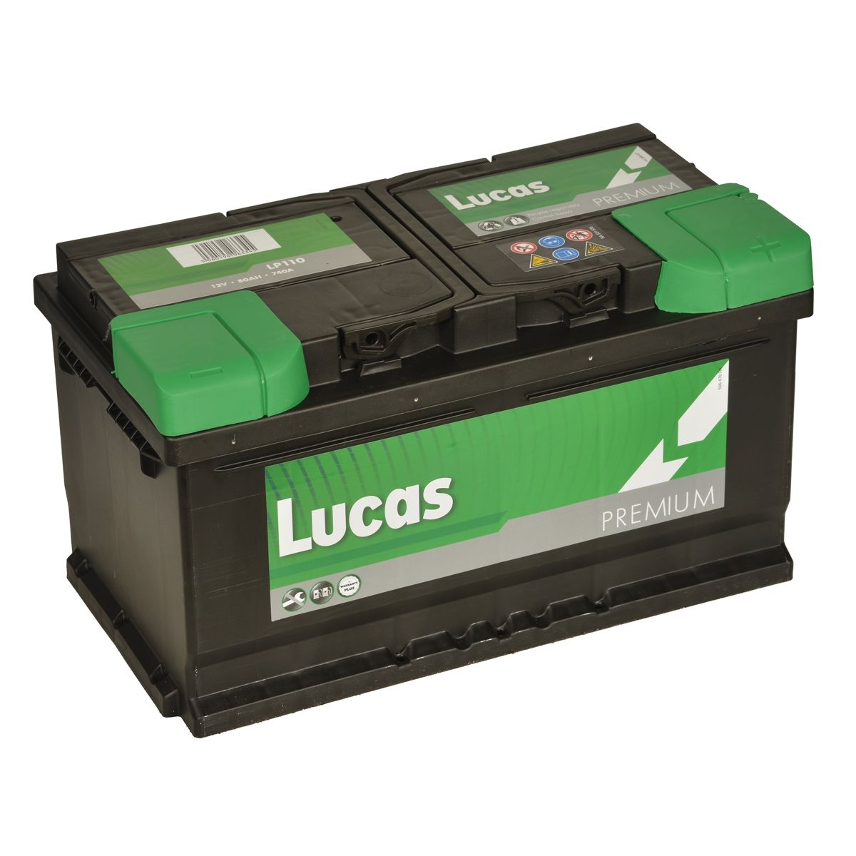 Lucas LP110 Audi BMW Vauxhall 12v Volt 80Ah 800CCA 110 4 Year Car Battery
