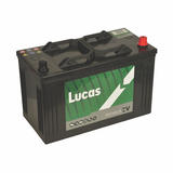 Lucas LP663 Commerical 2 Year Car Battery Heavy Duty 12v 110Ah 750CCA
