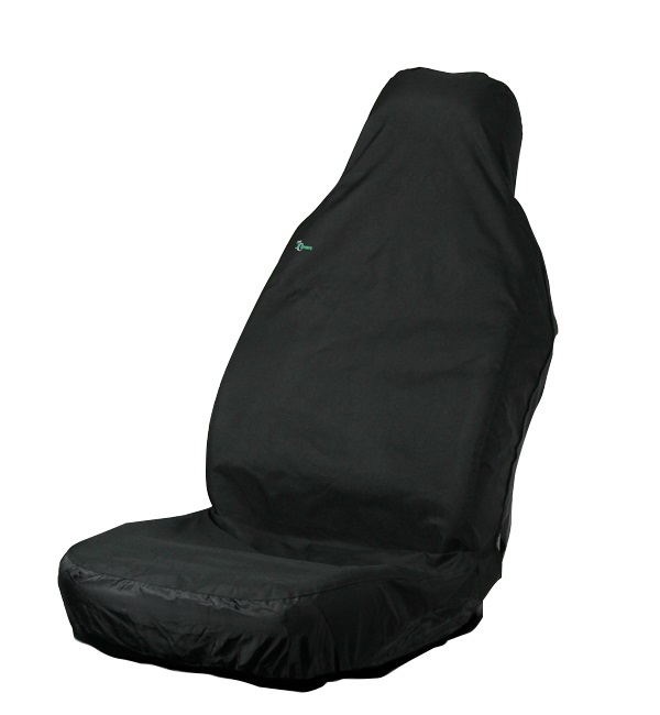 Town & Country 3DSFBLK Automotive Large Seat Cover Black Waterproof Single