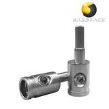 Bassface CON0.1 2AWG to 4/8AWG Amplifier Cable Terminator Connector x2