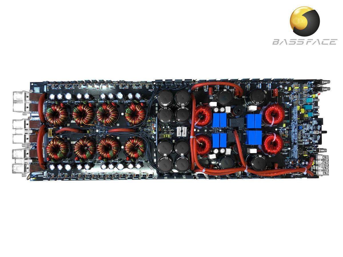 Bassface DB1.6 Class D Monoblock Subwoofer Amplifier Complete PCB Assembly