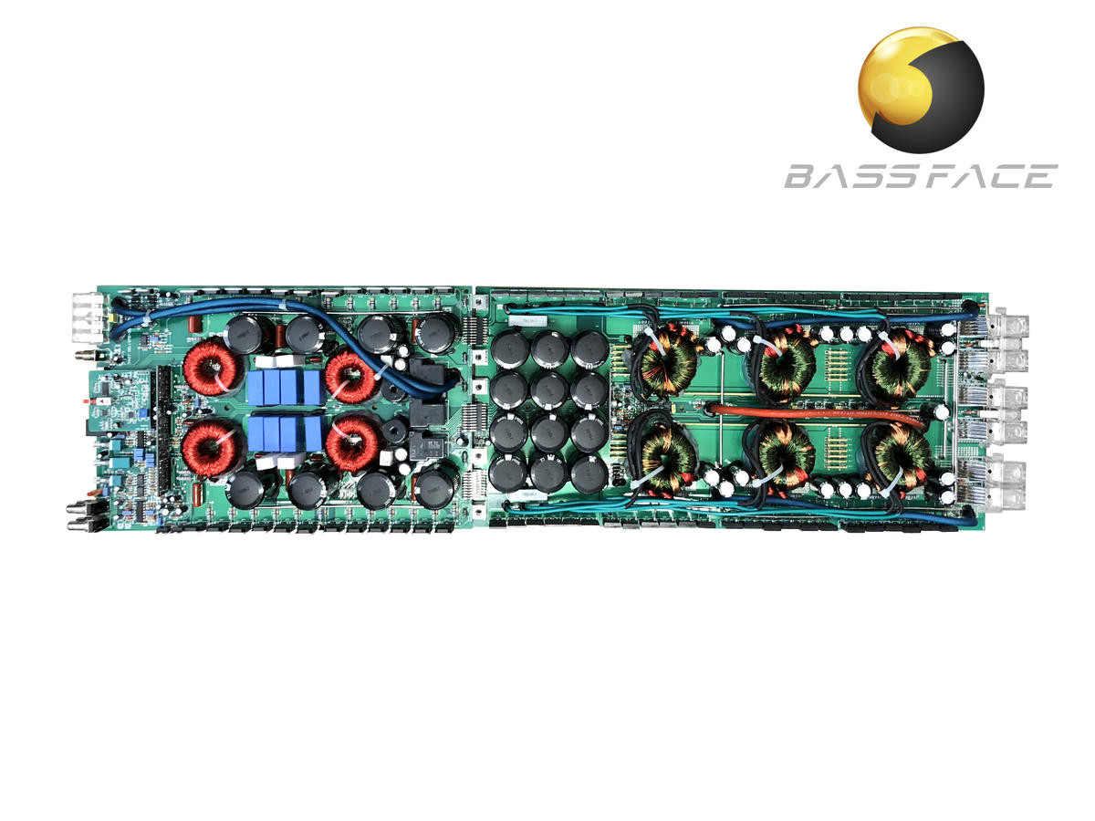 Bassface DB1.7 Class D Monoblock Subwoofer Amplifier Complete PCB Assembly